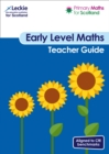 Image for Primary maths for Scotland  : for curriculum for excellence primary mathsEarly level,: Teacher guide