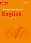 Image for Cambridge lower secondary EnglishStage 9,: Student's book