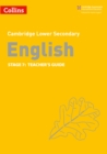 Image for EnglishStage 7,: Teacher's guide