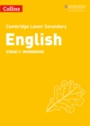 Image for Lower secondary English workbookStage 7