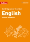 Image for Lower secondary English workbookStage 9