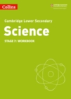 Image for Lower Secondary Science Workbook: Stage 7
