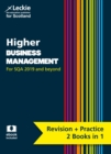 Image for Higher business management  : revise Curriculum for Excellence SQA exams