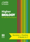 Image for Higher biology complete revision and practice  : revise curriculum for excellence SQA exams