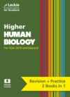Image for Higher human biology complete revision and practice  : revise curriculum for excellence SQA exams