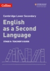 Image for Lower secondary English as a second languageStage 9,: Teacher's guide
