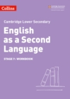 Image for Lower secondary English as a second languageStage 7,: Workbook