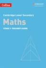 Image for Lower secondary mathsTeacher's guide 7