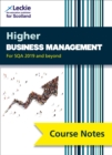 Image for Higher business management  : for Curriculum for Excellence SQA exams: Course notes