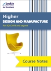 Image for Higher Design and Manufacture Course Notes (second edition) : For Curriculum for Excellence Sqa Exams