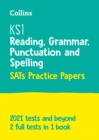 Image for KS1 SATs English reading, grammar, punctuation and spelling practice papers  : for the 2020 tests