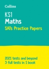 Image for KS1 maths SATs practice papers  : for the 2020 tests