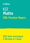Image for KS2 maths SATs practice papers  : for the 2020 tests
