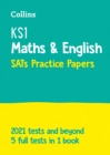 Image for New KS1 maths and English SATs practice papers  : for the 2020 tests