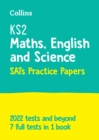 Image for KS2 complete SATs practice papers  : maths, English and science