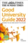 Image for The Times good university guide 2022  : where to go and what to study