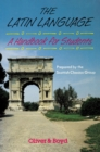 Image for The Latin Language Handbook for Students Handbook for Students, A