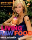 Image for Living raw food  : get the glow with more recipes from Pure Food and Wine