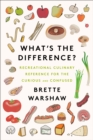 Image for What's the Difference: Food-based Recreational Reference for the Curious and Confused