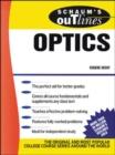 Image for Schaum's Outline of Optics