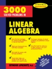 Image for 3,000 Solved Problems in Linear Algebra