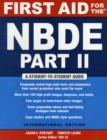 Image for FIRST AID FOR THE NBDE PART II