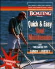 Image for Quick and Easy Boat Maintenance: 1,001 Time-Saving Tips