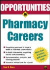 Image for Opportunities in pharmacy careers