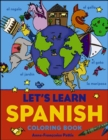 Image for Let's Learn Spanish Coloring Book