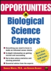 Image for Opportunities in biological science careers