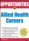Image for Opportunities in Allied Health Careers, revised edition