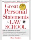 Image for Great Personal Statements for Law School