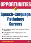 Image for Opportunities in Speech Language Pathology