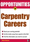Image for Opportunities in carpentry careers