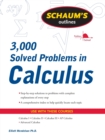 Image for Schaum's 3,000 solved problems in calculus