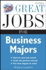 Image for Great jobs for business majors