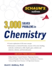 Image for 3,000 solved problems in chemistry
