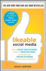 Image for Likeable social media  : how to delight your customers, create an irresistible brand, and be generally amazing on Facebook (and other social networks)