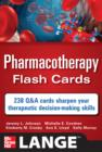 Image for Pharmacotherapy Flash Cards