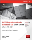 Image for OCP upgrade to Oracle Database 12c exam guide (exam 1Z0-060)
