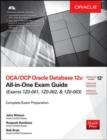 Image for OCA/OCP Oracle database 12c all-in-one exam guide  : exams 1Z0-061, 1Z0-062, 1Z0-063
