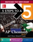 Image for 5 Steps to a 5 AP Chemistry, 2015 Edition