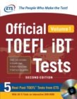 Image for Official TOEFL iBT Tests Volume 1, 2nd Edition. : Volume 1