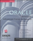 Image for Oracle Developer  : advanced forms & reports