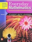 Image for EVERYDAY MATH STUDENT MATH JOURNAL VOLUM