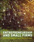 Image for Entrepreneurship and small firms