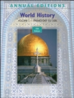 Image for World History : v. 1 : Prehistory to 1500
