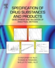 Image for Specification of drug substances and products  : development and validation of analytical methods