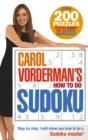 Image for Carol Vorderman's how to do Sudoku