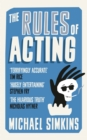 Image for The rules of acting